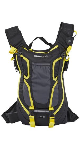 Shimano Unzen II Enduro Backpack 4 L black/yellow
